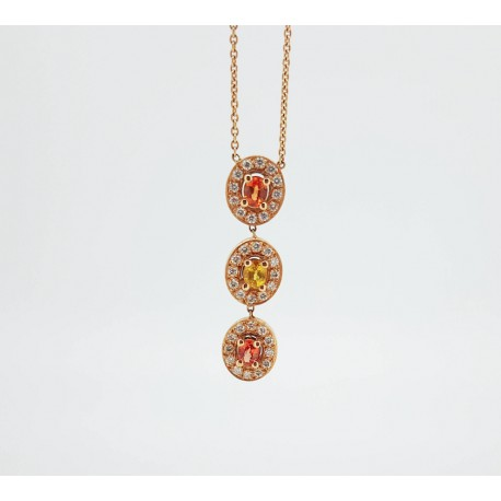 Collier ovale